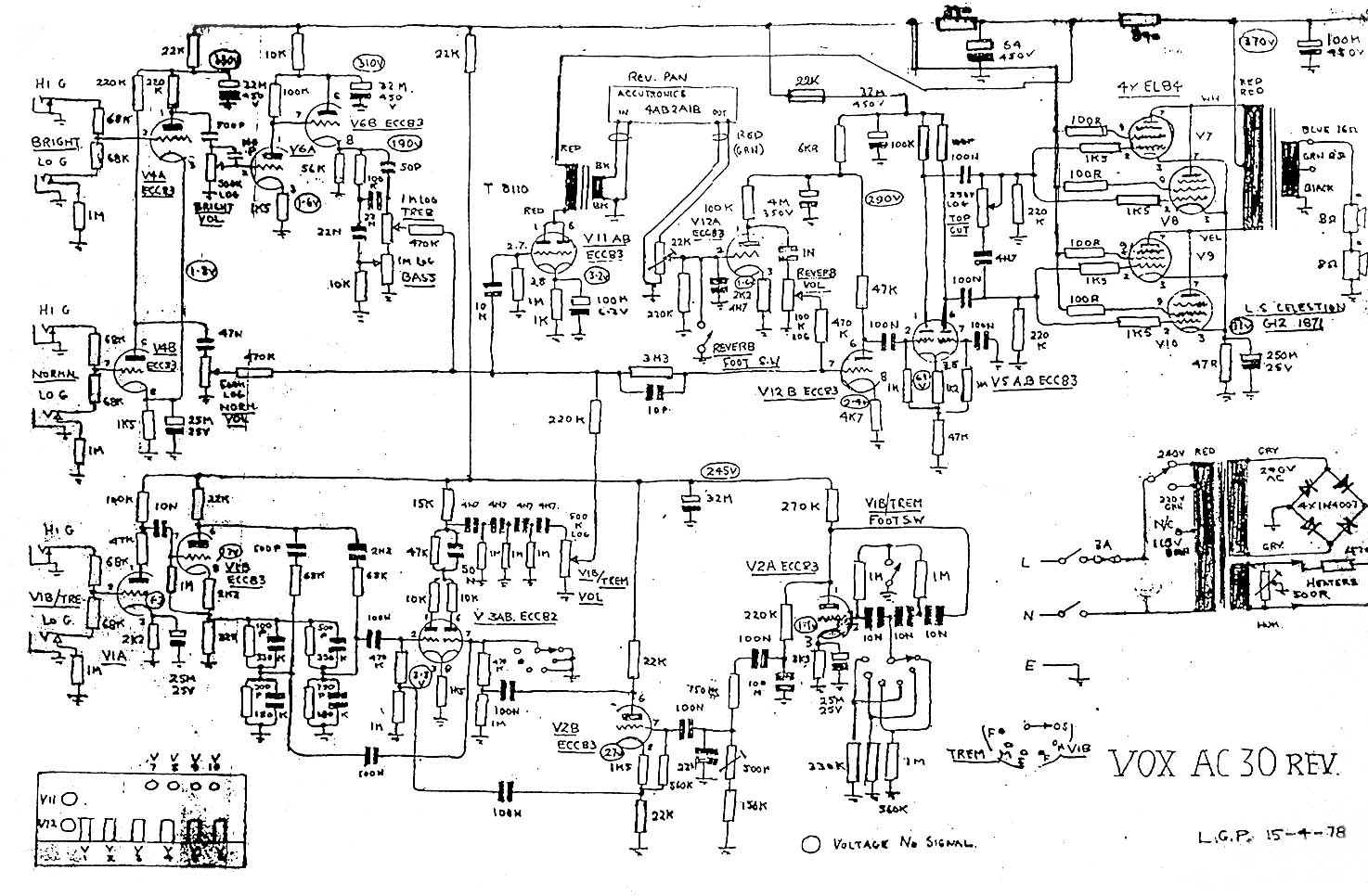 Swell Vox Vintage Circuit Diagrams Wiring 101 Vieworaxxcnl