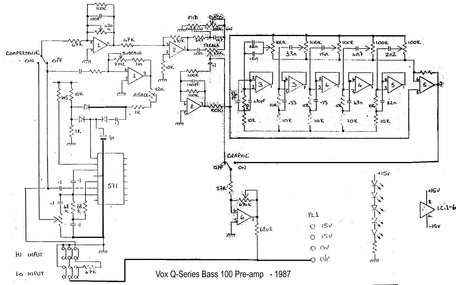 qsbass1 bass preamp circuit diagram circuit and schematics diagram preamp wiring diagram at bayanpartner.co