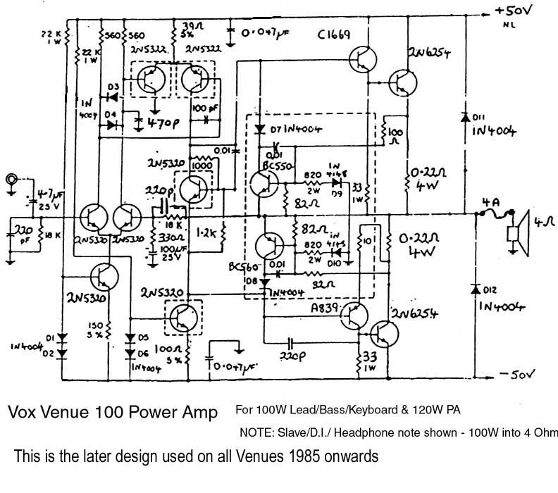 vox wiring diagram - wiring diagrams image free